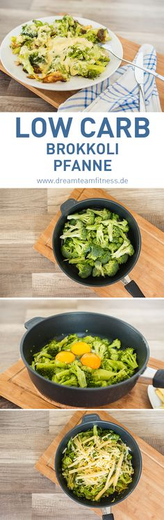 Low Carb Broccoli with cheese Recipe I Low Carb Brokkoli Pfanne mit Käse - gesund essen - Diat Rezepte Cheese Recipes, Diet Recipes, Healthy Recipes, Low Carb Lunch, Broccoli And Cheese, Paleo Dessert, Paleo Diet, Queso, Clean Eating
