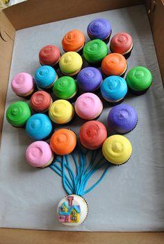 Up cupcake cake.