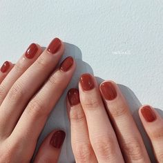 20 Nail Polish Color Trends Ideas 18 - - Fingernails for Best Ever Brown Nail Polish, Brown Nails, Nail Polish Colors, Polish Nails, Mavala Nail, Cute Nails, Pretty Nails, Pretty Toes, Colorful Nails