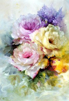 Yorkshire Porcelain China Code: 9841153740 painting subjects popular painting subjects painting subjects subjects subjects for beginners subjects from china subjects ideas subjects that sell subjects used by china painting subjects Watercolor Flowers, Watercolor Paintings, China Painting, Arte Floral, Beautiful Paintings, Vintage Flowers, Flower Art, Beautiful Flowers, Canvas Art
