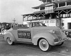 INDY 500 PACE CARS - 1938 HUDSON 112 ★。☆。JpM ENTERTAINMENT ☆。★。