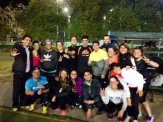 Acabamos de terminar un excelente entrenamiento con el grupo Lan Road Runners. Día a día trabajando en los objetivos planteados.