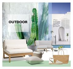 """""""Out of town"""" by laste-co ❤ liked on Polyvore featuring interior, interiors, interior design, home, home decor, interior decorating, Thos. Baker, Ethimo, Zuo and Leonardo"""