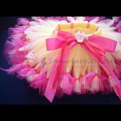 cute tutu ideas | Birthday Tutu Petti Tutu Birthday Dress Baby by StrawberrieRose, $42 ...