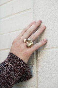 Faris - Bronze Nug Ring | BONA DRAG