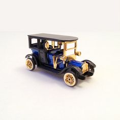Old Fashioned Toy Car // Vintage High Speed Old by GodsofVintage, $14.95