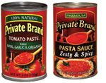 New Tomato Products Red Gold introduced two tomato-based products for retailers' store brand programs: Basil, Garlic & Oregano Tomato Paste and Zesty & Spicy Pasta Sauce.  www.redgold.com