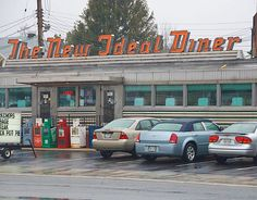 New Ideal Diner    U.S. 40, Aberdeen, MD Aberdeen Maryland, Childhood Memories, Places Ive Been, Spaces, Signs, Summer, Summer Time, Shop Signs, Sign