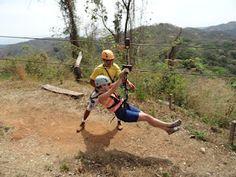 Zip Lining in Nosara Costa Rica