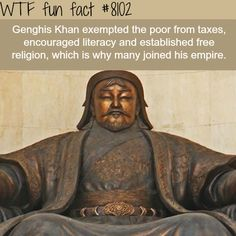 Genghis Khan - WTF fun facts