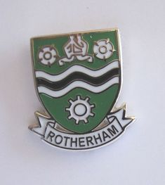 ROTHERHAM HARD ENAMEL LAPEL PIN BADGE   Collectables, Badges & Patches, Collectable Badges   eBay!