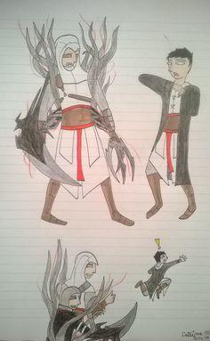 Assassin's Creed Alex Mercer and Altair prank Malik :D