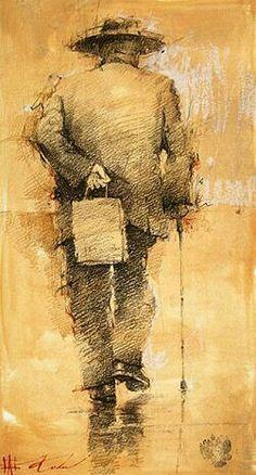 Andre Kong drawings