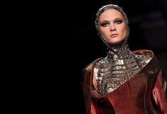 Paco Rabanne Returns With an Edge Space Fashion, Hi Fashion, Fashion Outfits, A Wrinkle In Time, Manish Arora, Paco Rabanne, Ny Times, Heavy Metal, What To Wear