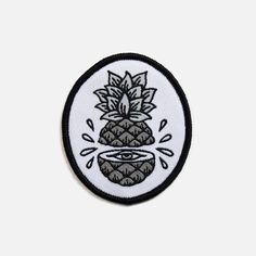 • Woven iron-on patch • 6cm high                                                                                                                                                      More