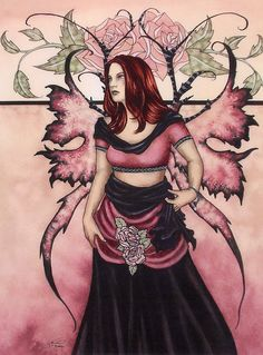 Fairy Art by Amy Brown Divine Rose