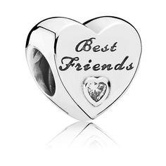 Pandora Charm Best Friends Herz 791727CZ