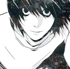 L from Death Note--anime
