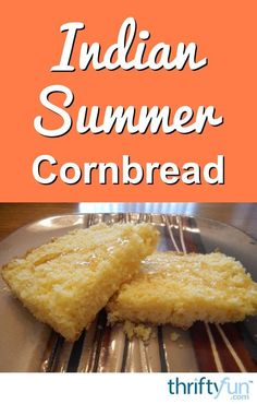 A favorite bread from the northern Cherokee nation to enjoy with a drizzle of honey or butter. This recipe is for Indian summer cornbread. Indian Corn Bread Recipe, Indian Food Recipes, Native American Fry Bread, American Food, Other Recipes, Sweet Recipes, Bread Recipes, Baking Recipes, Bread Appetizers