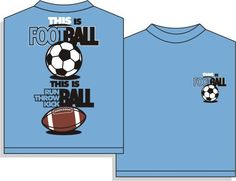 "Utopia ""This is Football"" Soccer Short Sleeve T-Shirt"