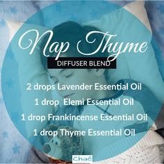 Nap Thyme Diffuser Blend 2 drops Lavender Essential Oil 1 drop Elemi Essential Oil 1 drop Frankincense Essential Oil 1 drop Thyme Essential Oil Organic Essential Oils, Essential Oil Uses, Diffuser Blends, Saving Money, Essentials, Drop, Pure Products, Marketing, This Or That Questions