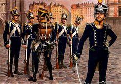 Наполеоновские Войны №6 Стрелок французской легкой пехоты, 1813 г.