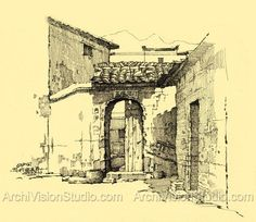 pen and ink pictures