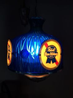 Vintage Budweiser Clydesdale Pool Table Light Circa 1986