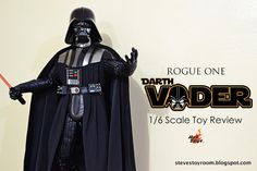 Steve's Toy Room: Hot Toys Rogue One: Darth Vader Figure Review (MMS...
