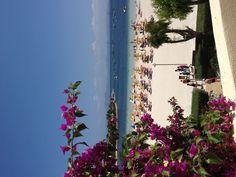 Alcudia, Majorca - beach by the harbour