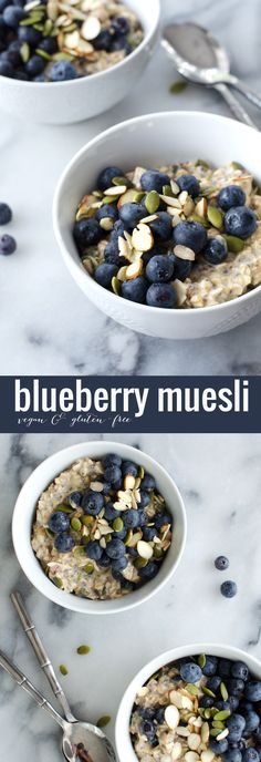 Blueberry Muesli! A