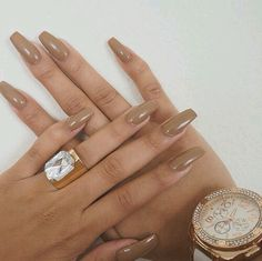 The nudes. #nails #manicure #nude