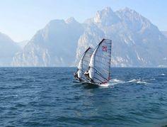 Windsurfing on Lake Garda - http://www.visittrentino.it/en/cosa_fare/da_vedere/dettagli/dett/lago-di-garda
