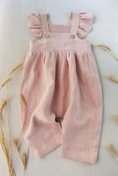 Powder baby linen romper toddler jumpsuit girls linen overall Cute Baby Clothes Baby Girls Jumpsuit linen powder romper toddler Baby Outfits, Toddler Outfits, Kids Outfits, Baby Girl Fashion, Kids Fashion, Toddler Fashion, Fashion Wear, Curvy Fashion, Fall Fashion