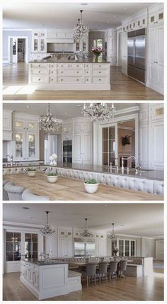 a kitchen made in heaven and the pantry that goes with it Decor Ideas Home Design Ideas DIY Interior Design home decor Coastal living Beautiful Kitchens, Cool Kitchens, Beautiful Homes, Beautiful Beautiful, House Beautiful, Dream Kitchens, Luxury Kitchens, Elegant Kitchens, White Kitchens