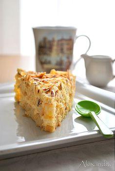 Orange Cake - Just perfect! Lemon Recipes, Greek Recipes, Desert Recipes, Cupcake Recipes, Cupcake Cakes, Cupcakes, Tiramisu Cake, Cake Bars, Sweet And Salty