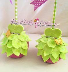 Tinker dresses =) #chocolatecoveredapples #tinkerbellapples #customapples #customapples #chocolatecoveredapple #edibleart #tinkerdresses