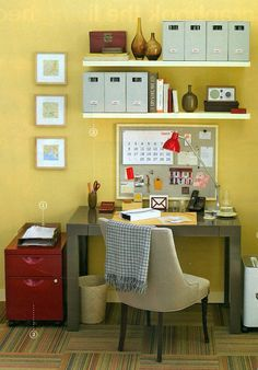 stephmodo: Gorgeous Home Offices + Craft Spaces