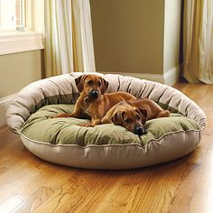 Our Reversible Bolster Pet Bed is both comfortable and washable — a dream-come-true for pet and owner alike. One side of this pet bed is covered in cool, breathable organic linen, ideal for keeping Fido cool in the summer months; the other side features soft microvelvet for cozy warmth.