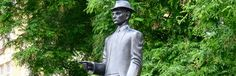 Kafka memorial in Prague showing the way Prague, Old Town, Literature, Weird, Old Things, Tours, City, Places, Old City