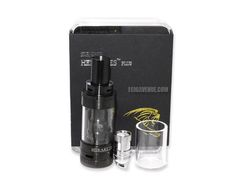 Free USA Shipping! The newest innovation in sub ohm tanks has arrived.  The Herakles Plus has air flow controls galore in this dual chimney device.  Juice flow to the coils is controlled by twisting the adjustment above the bottom airflow.  Top fill is always a nice feature along with Pyrex glass and a replacement glass tank.  The pre installed 0.4Ω coil is kanthal and the extra spare in the 0.2Ω 316L stainless steel coil head is in the package.A 4.0mL capacity and upgrades over the…