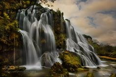 Silky waterfall (Robert Didierjean / ALSACE / FRANCE) #NIKON D810 #landscape #photo #nature