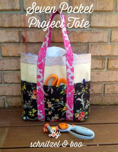 Tutorial: Seven Pocket Project Tote