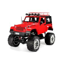 RC Jeep Crawler Wrangler RTR 4WD Radio Control 1/10 Toys New Sealed #HG