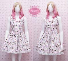 READY STOCK Turquoise Lolita Dress Paris by CoruscateUnique