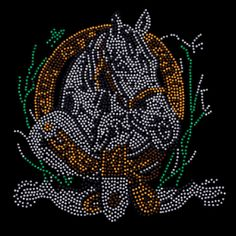 Rhinestone Horsehead Western Design Womans by firelandsteeshirts, $17.99