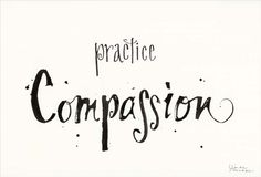 Framed Compassion Print