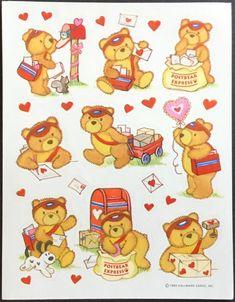 2 Pkg Vtg HALLMARK Easter Stickers Pooh 4 Sheets Per Pkg Piglet Tiger Disney NOS