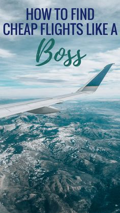 Here are my tried and true 10 steps to finding cheap flights like a boss. It's not always easy, but it's worth it for finding cheap flight deals! Cheap Flight Deals, Find Cheap Flights, Budget Flights, Travel Goals, Travel Tips, Travel Hacks, Travel Ideas, Travel Info, Travel Packing
