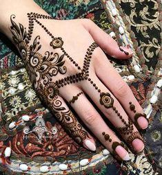 Most Beautiful Henna Designs 2019 Wedding Henna Designs, Back Hand Mehndi Designs, Latest Mehndi Designs, Henna Tattoo Designs, Eid Special Mehndi Design, Henna Sleeve, Hena, Henna Eyebrows, Buy Henna